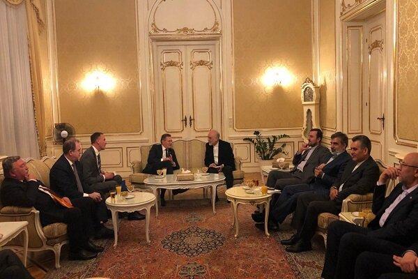 دیدار و گفتگوی روسای سازمان انرژی اتمی ایران و روس اتم