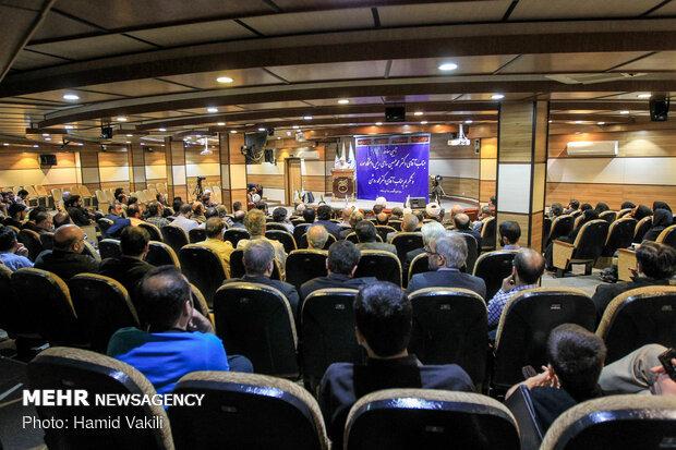 مراسم تودیع و معارفه رئیس دانشگاه سوره
