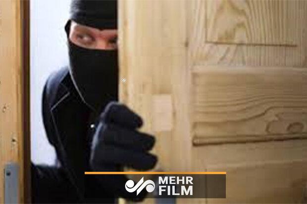 دزدی که اشتباهاً وارد خانه دیگری شد