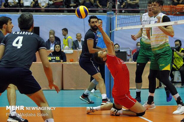دیدار تیم های والیبال ایران و استرالیا