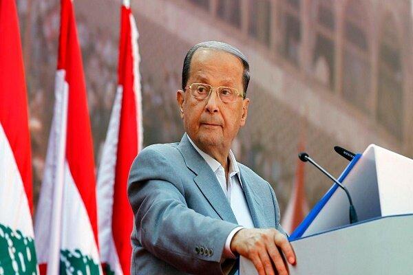 میشل عون: اعراب در عمل حامی لبنان باشند