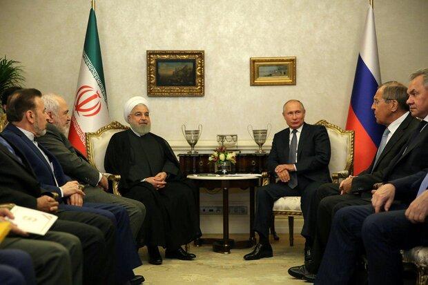 Rouhani meets with Putin in Ankara