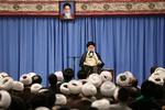 Ayetullah Seyyid Ali Hamanei'nin fıkhın harici dersinin ilk oturumu
