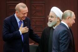 İran-Türkiye-Rusya Üçlü Zirvesi'nden fotoğraflar