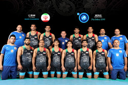Iran freestyle wrestling lands in 4th place in world c'ships