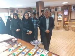 نمایشگاه نوشت افزار ایرانی اسلامی در گرگان افتتاح شد