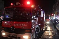 آتش سوزی شبانه در کافه سنتی میدان انقلاب