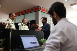 """زيارة العميد """"نوريان"""" إلى وكالة مهر للانباء /صور"""