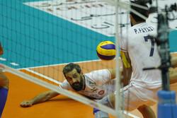 Iran vs China at 2019 Asian Volleyball C'ship