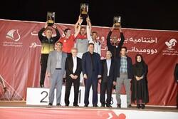 قهرمان لیگ دوومیدانی باشگاه های کشور مشخص شد