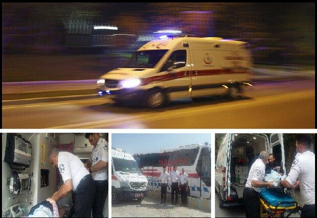 ۲۶۳ ماموریت توسط اورژانس ساوه انجام شد/ امدادرسانی به ۱۰۹ مصدوم