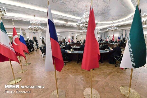 اجلاس سه جانبه سران ایران، روسیه و ترکیه