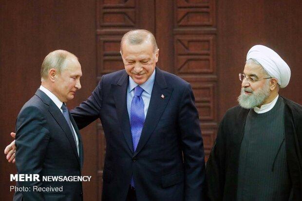 Iran, Russia, Turkey tripartite summit on Syria in Ankara