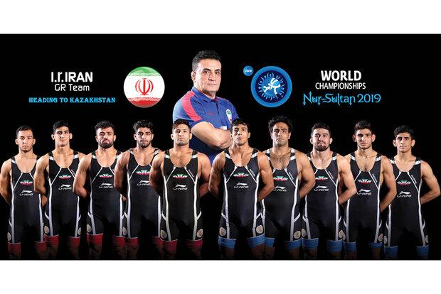 Iran Greco-Roman team come 4th at World Championships