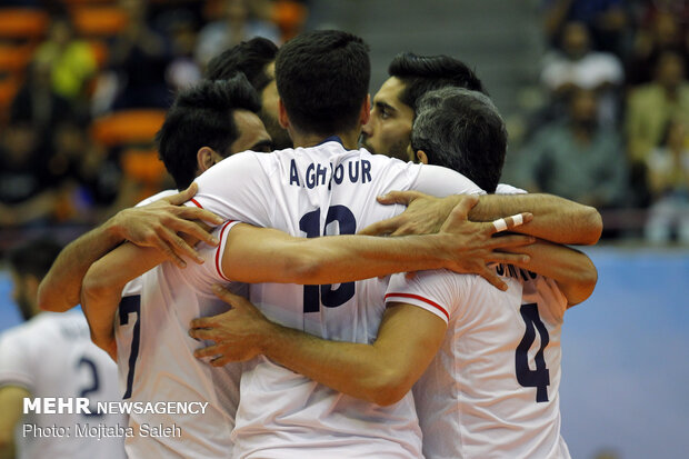 Iran gains easy win versus India at 2019 Asian Volleyball C'ship