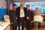 دیدار دبیر و سوریان با رئیس اتحادیه جهانی کشتی
