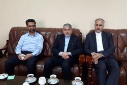 دیدار رئیس کمیته ملی المپیک با سفیر ایران در قزاقستان