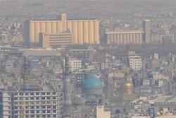 کیفیت هوا در مشهد مطلوب نیست/افزایش میزان آلایندهها در شهر