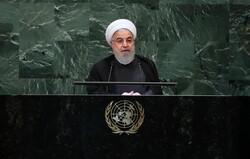 صدر حسن روحانی نیویارک پہنچ گئے