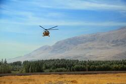 وزیرنیرو ازسد چم شیر درکهگیلویه و بویراحمدبه صورت هوایی بازدیدکرد