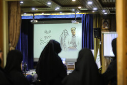 مراسم یادبود مادر دکتر سلیمانی