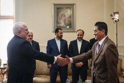 FM Zarif's meeting with departing North Korean envoy