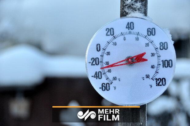 کاهش ۱۲ درجهای دمای هوا در شرق و شمال شرق