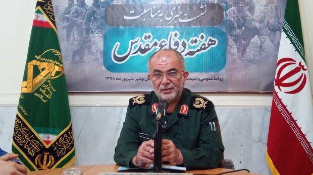 ۶۷۶ ویژه برنامه هفته دفاع مقدس در استان بوشهر اجرا میشود