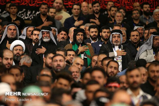 Ayat. Khamenei's meeting with Iraqi hosts to Karbala pilgrims