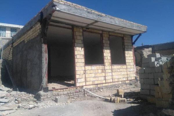 تعمیر واحدهای مسکونی سیل زدگان شهرستان دلفان به پایان رسید