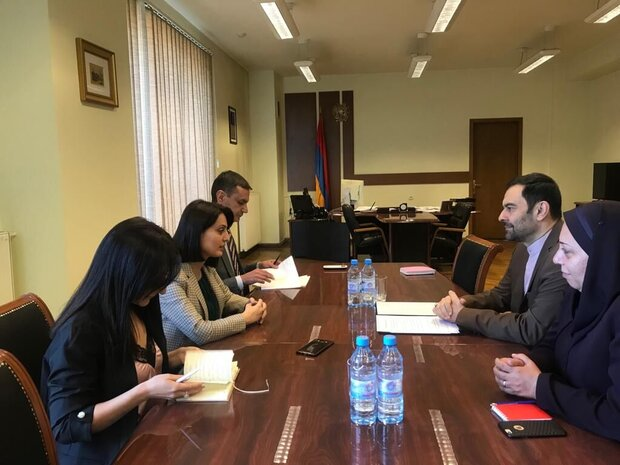Iran, Armenia confer on implementation of mutual MOUs