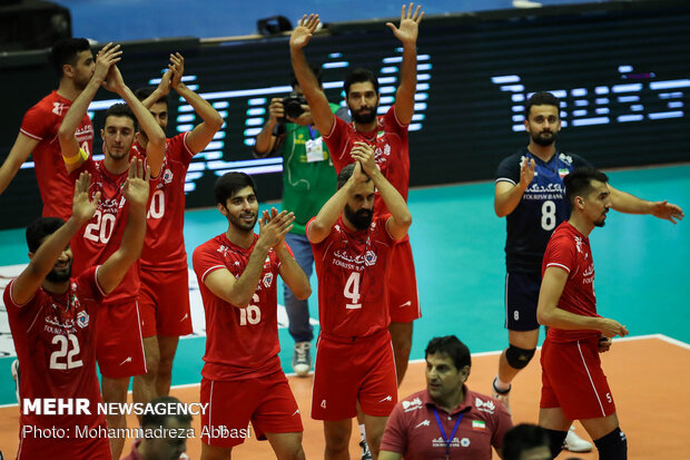 Iran volleyball knows rivals at Asian qualifications for 2020 Olympics