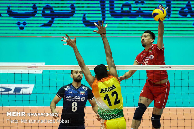 Iran vs India at 2019 Asian Volleyball C'ship