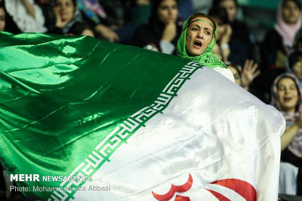 Iran vs India at 2019 Asian Volleyball C'ship