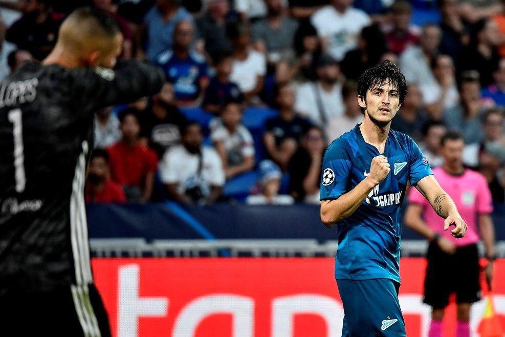 Iran star Sardar Azmoun scores opening goal of 2019/20 UEFA ...