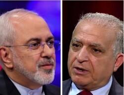 ایران اور عراق کے وزراء خارجہ کی ٹیلیفون پر گفتگو