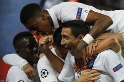 دیدار تیم های فوتبال پاری سن ژرمن و رئال مادرید