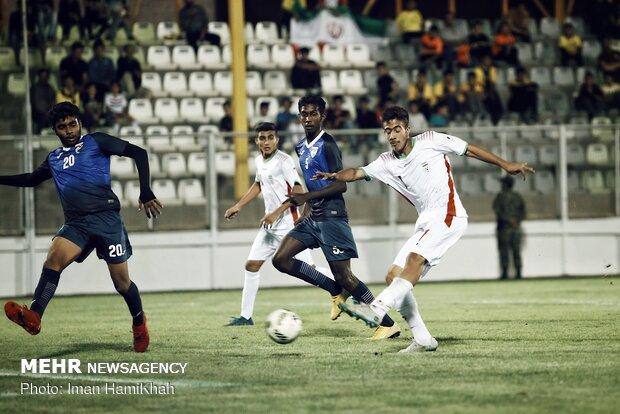 Iran 13-0 Maldives in 2020 AFC U-16 C'ship