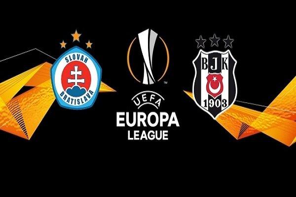 Beşiktaş Slovan Bratislava deplasmanında