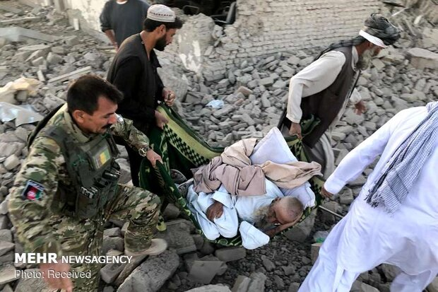 انفجار در استان زابل افغانستان