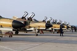 التمرين الجوي المشترك للقوات المسلحة الايرانية / صور