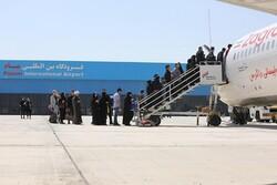 پروازهای کرج-مشهد به ۲ روز در هفته افزایش یافت