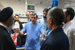 امام جمعه تبریز از اورژانس چند بیمارستان بازدید کرد