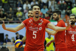 Iran crowned at Asian Volleyball C'ship after beating Australia 3-0