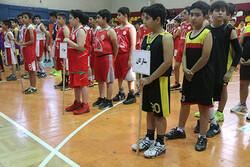 جشنواره مینی بسکتبال و میکرو بسکتبال در قم برگزار شد