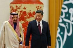 چین کے صدر اور سعودی عرب کے بادشاہ کی ٹیلیفون پر گفتگو