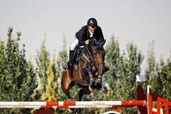 مسابقات الخيول في همدان /صور