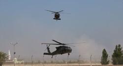 Fırat'ın doğusunda altıncı ortak helikopter uçuşu gerçekleştirildi