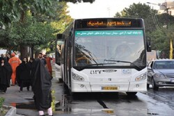 تغییر ساعات کاری ناوگان اتوبوسرانی مشهد مقدس