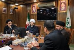 دیدار رئیس سازمان تبلیغات اسلامی با فرماندار کربلا